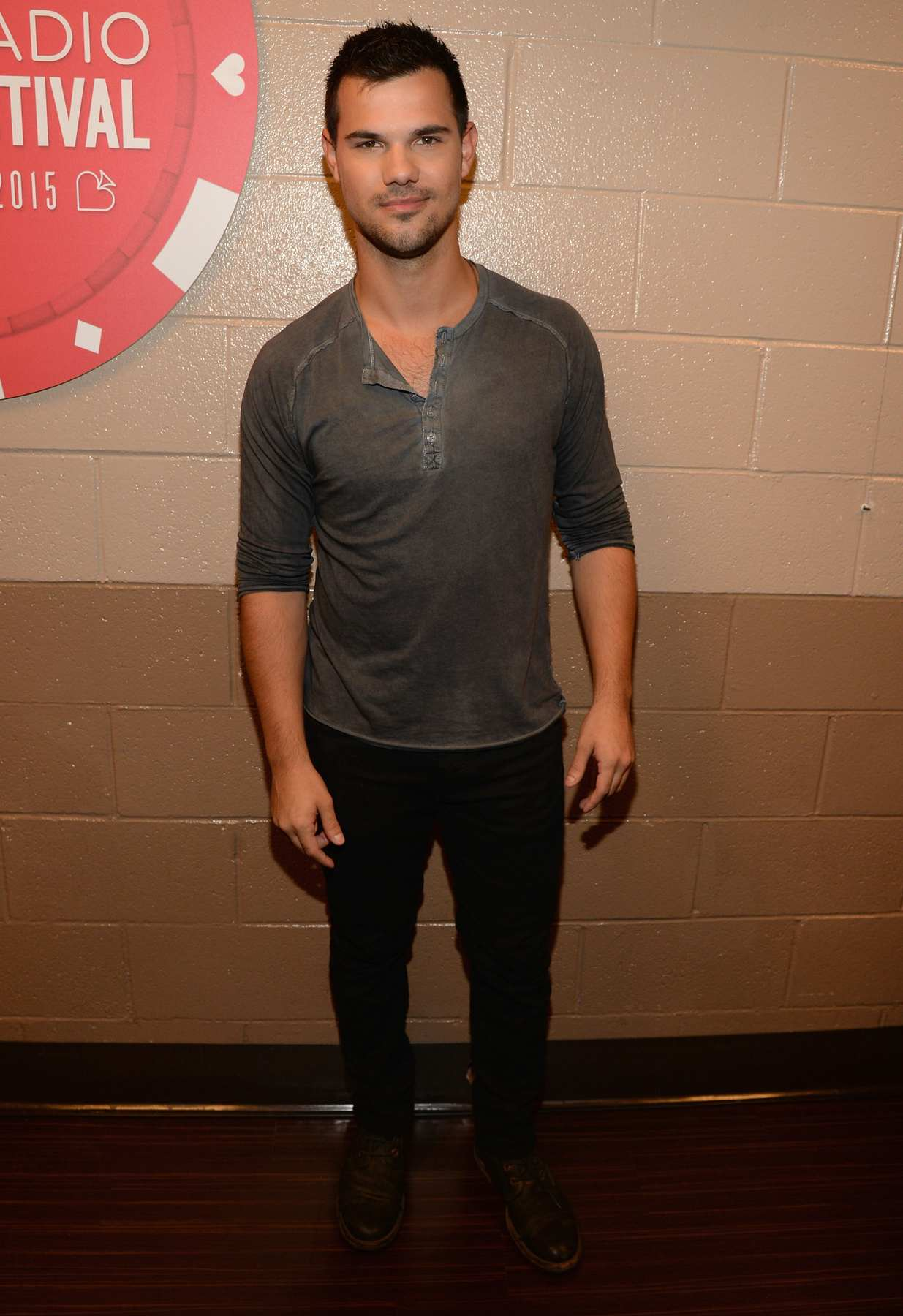 Taylor Lautner at iHeartRadio Music Festival-1