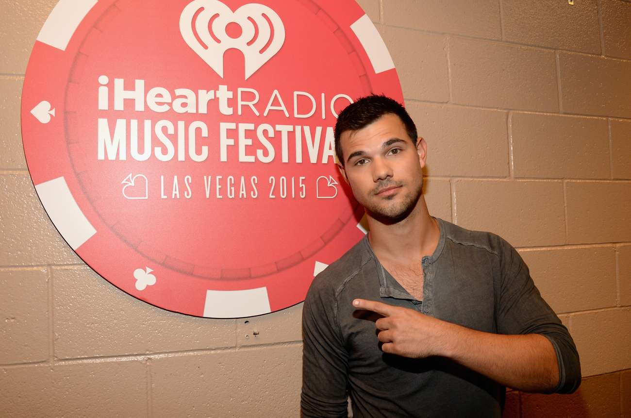 Taylor Lautner at iHeartRadio Music Festival-2