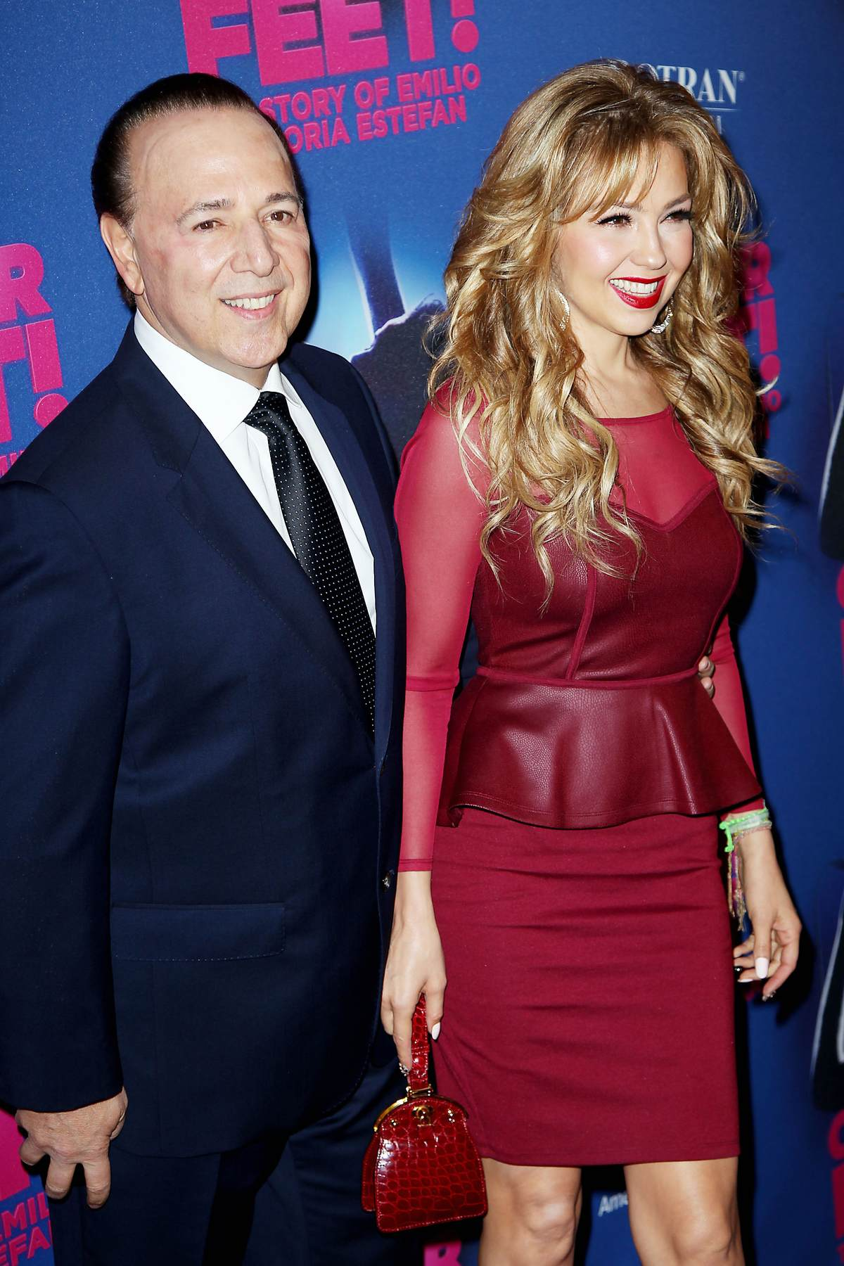 Thalia arrives at Opening Night Arrivals for On Your Feet!-1