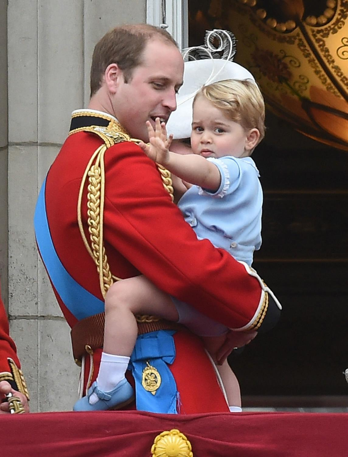The Royal Family at Trooping The Colour Ceremony-1