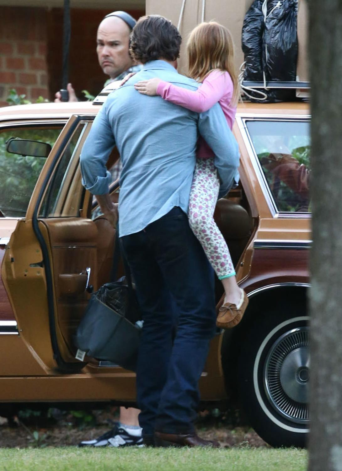 Tom Cruise and Sarah Wright Filming Mena in Georgia-4