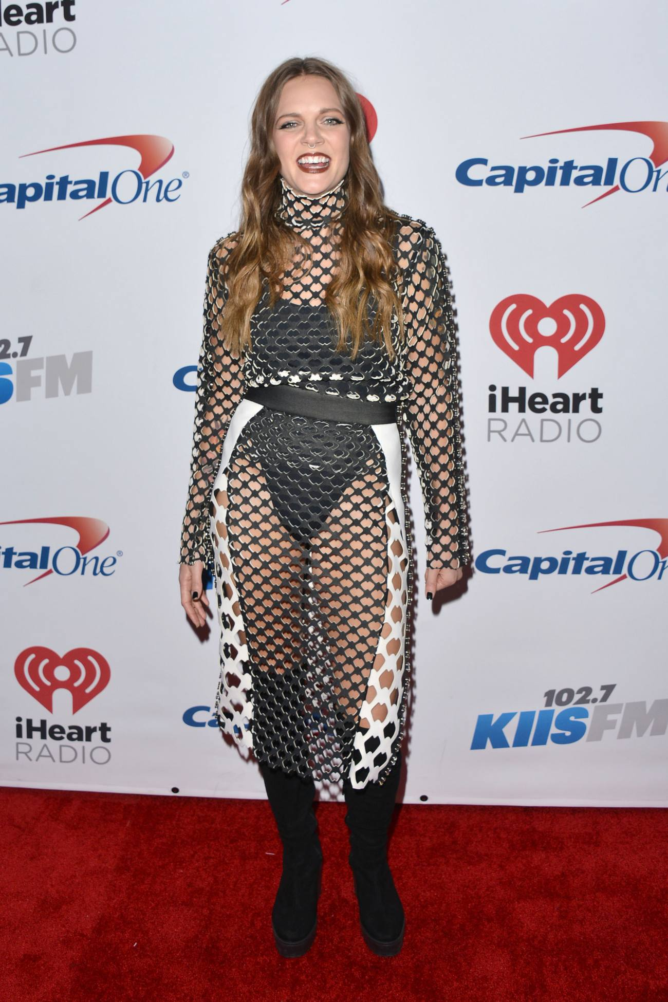 Tove Lo arrives at KIIS FMs Jingle Ball-1