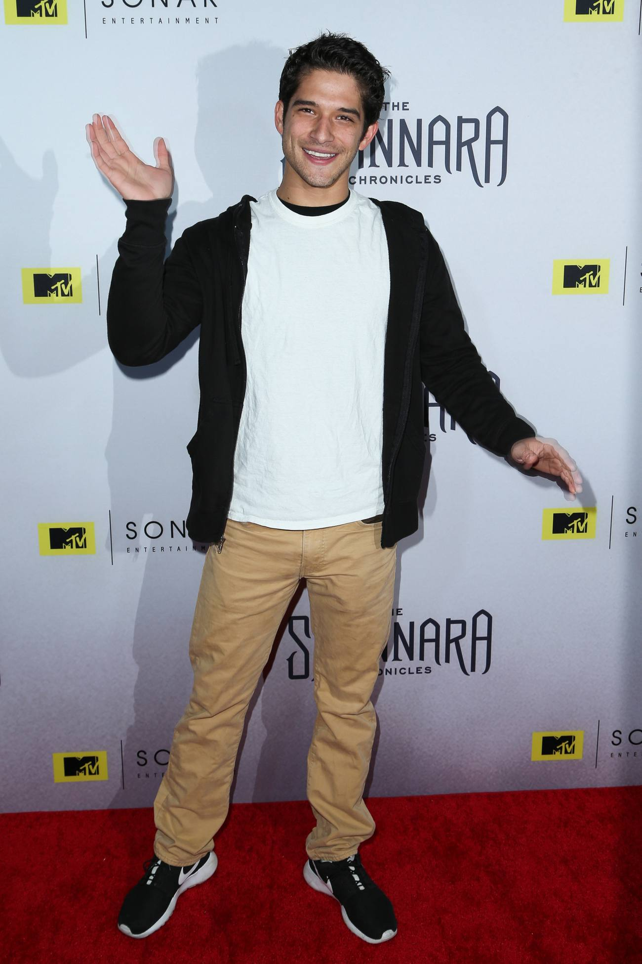 Tyler Posey arrives at The Shannara Chronicles Premiere-1