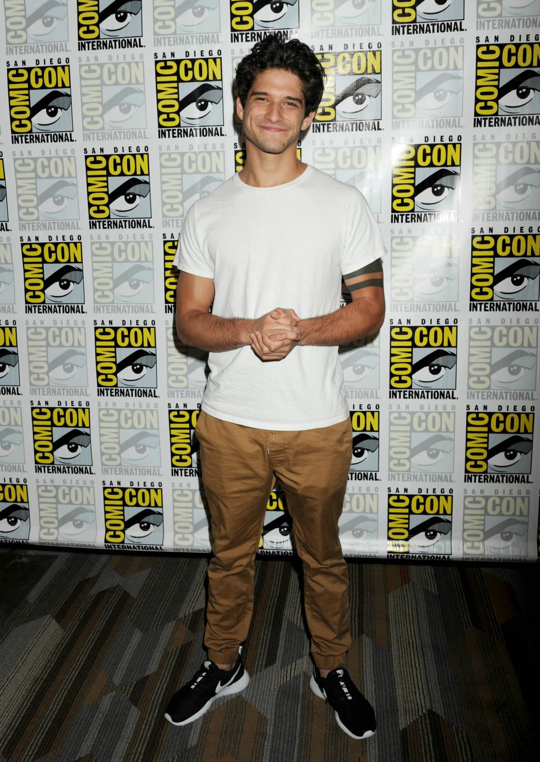 Tyler Posey at Comic-Con International Teen Wolf Press Line-1
