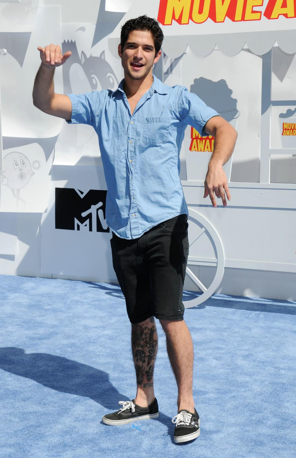 Tyler Posey at The MTV Movie Awards-1