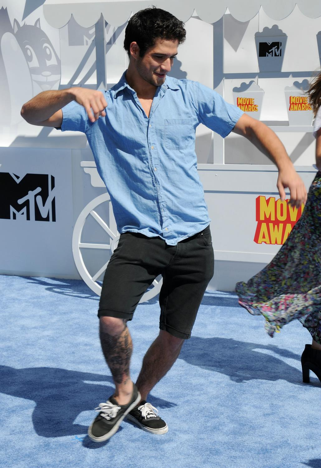 Tyler Posey at The MTV Movie Awards-3