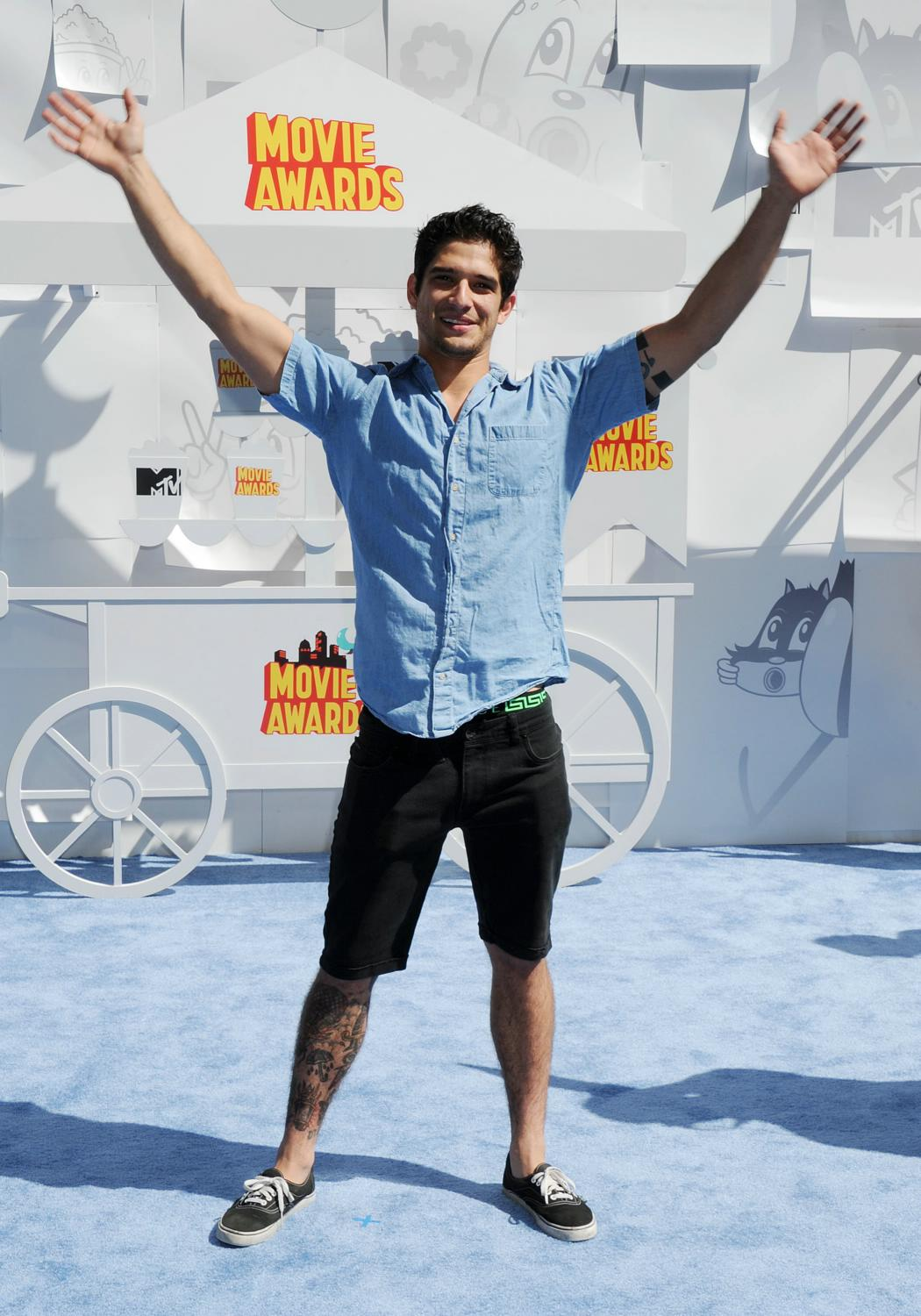Tyler Posey at The MTV Movie Awards-4