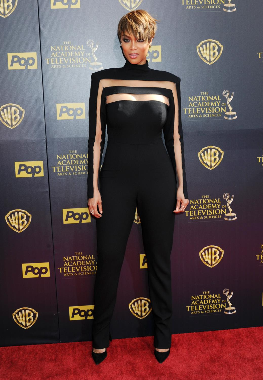 Tyra Banks at Daytime Emmy Awards