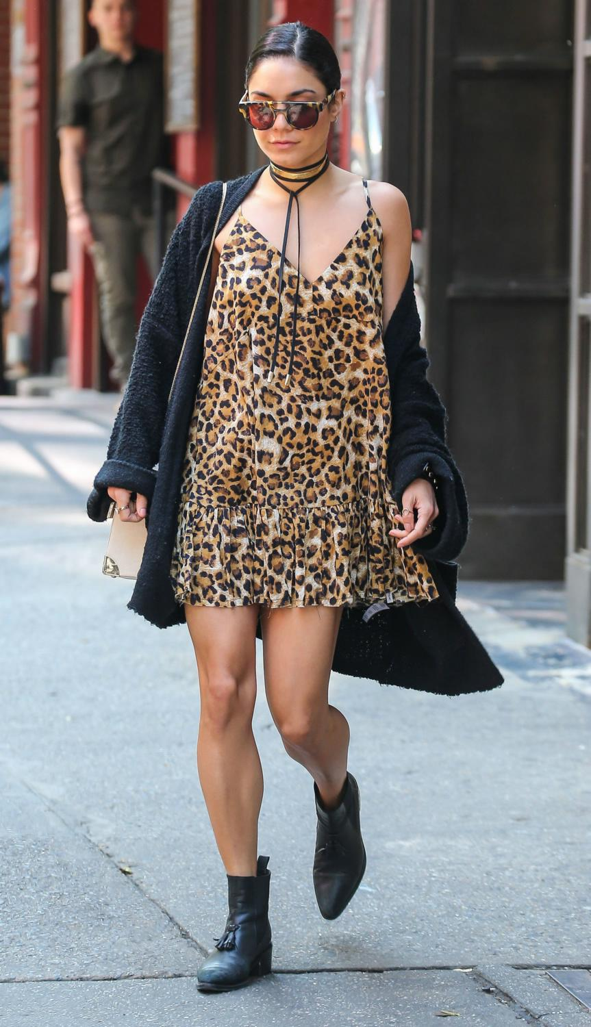 Vanessa Hudgens Leaving Her Apartment in NYC-3