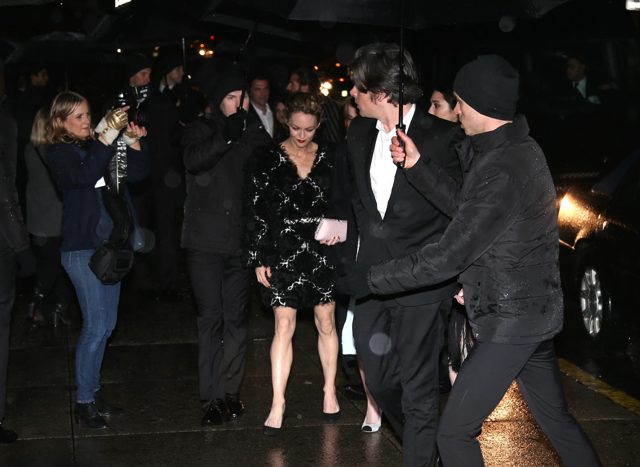 Vanessa Paradis and Boyfriend and daughter Lily-Rose Depp ... Vanessa Paradis Boyfriend