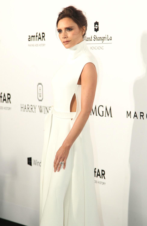 Victoria Beckham attendse inaugural Hong Kong amfAR Charity Party-1