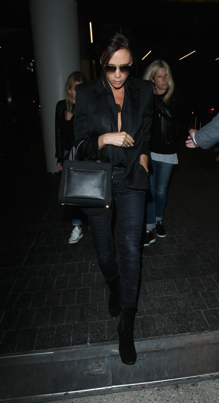 Victoria Beckham is seen making her wayrough LAX Airport-3