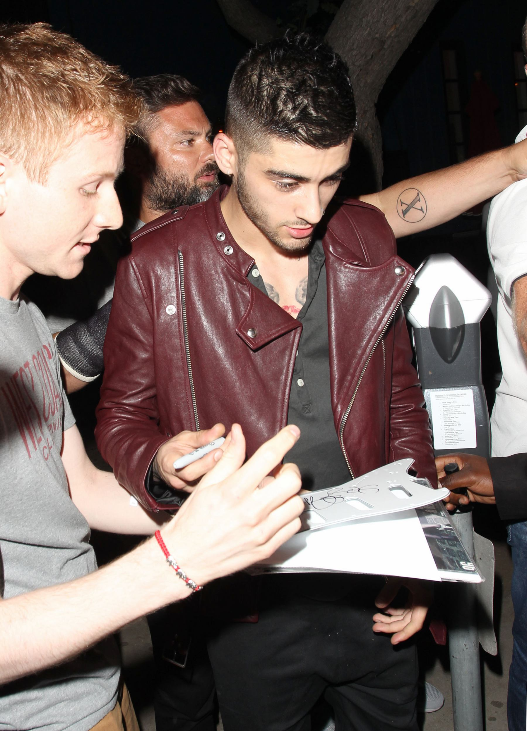 Zayn Malik Enjoys Night out at Bootsy-3