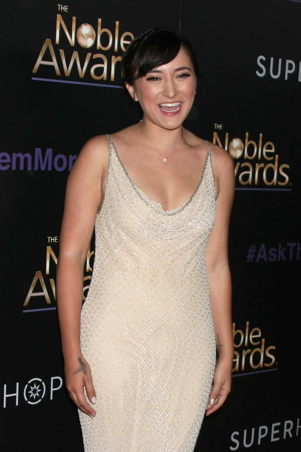 Zelda Williams ate Annual Noble Awards-1