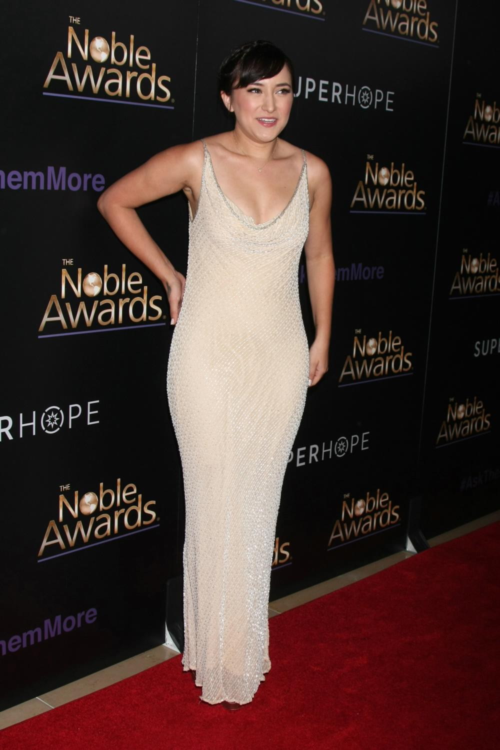 Zelda Williams ate Annual Noble Awards-2