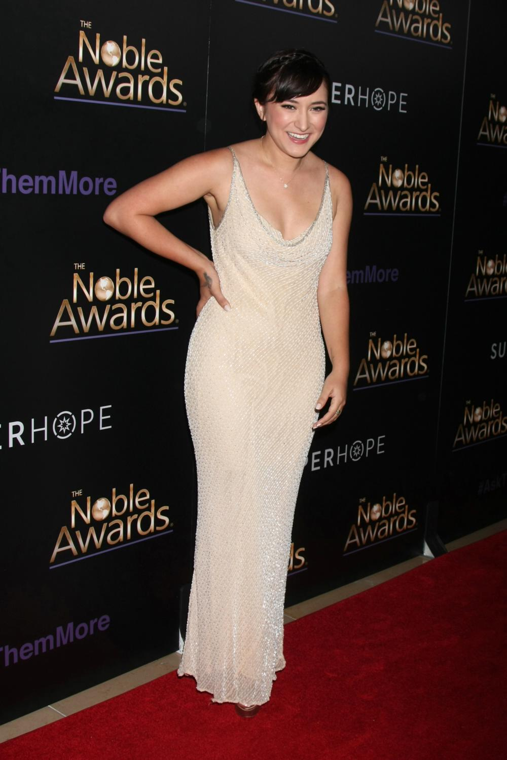 Zelda Williams ate Annual Noble Awards-3