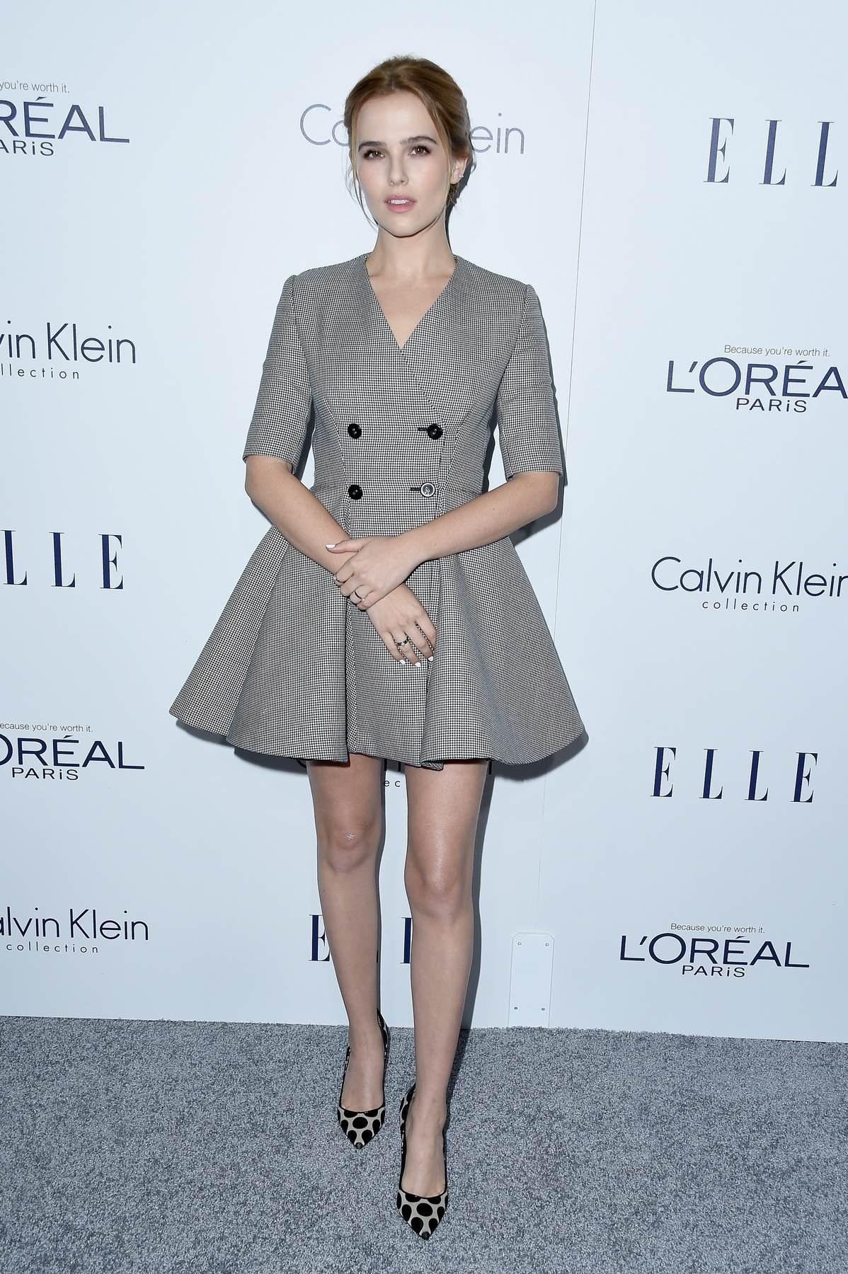 Zoey Deutch attendse Annual ELLE Women in Hollywood Awards-1
