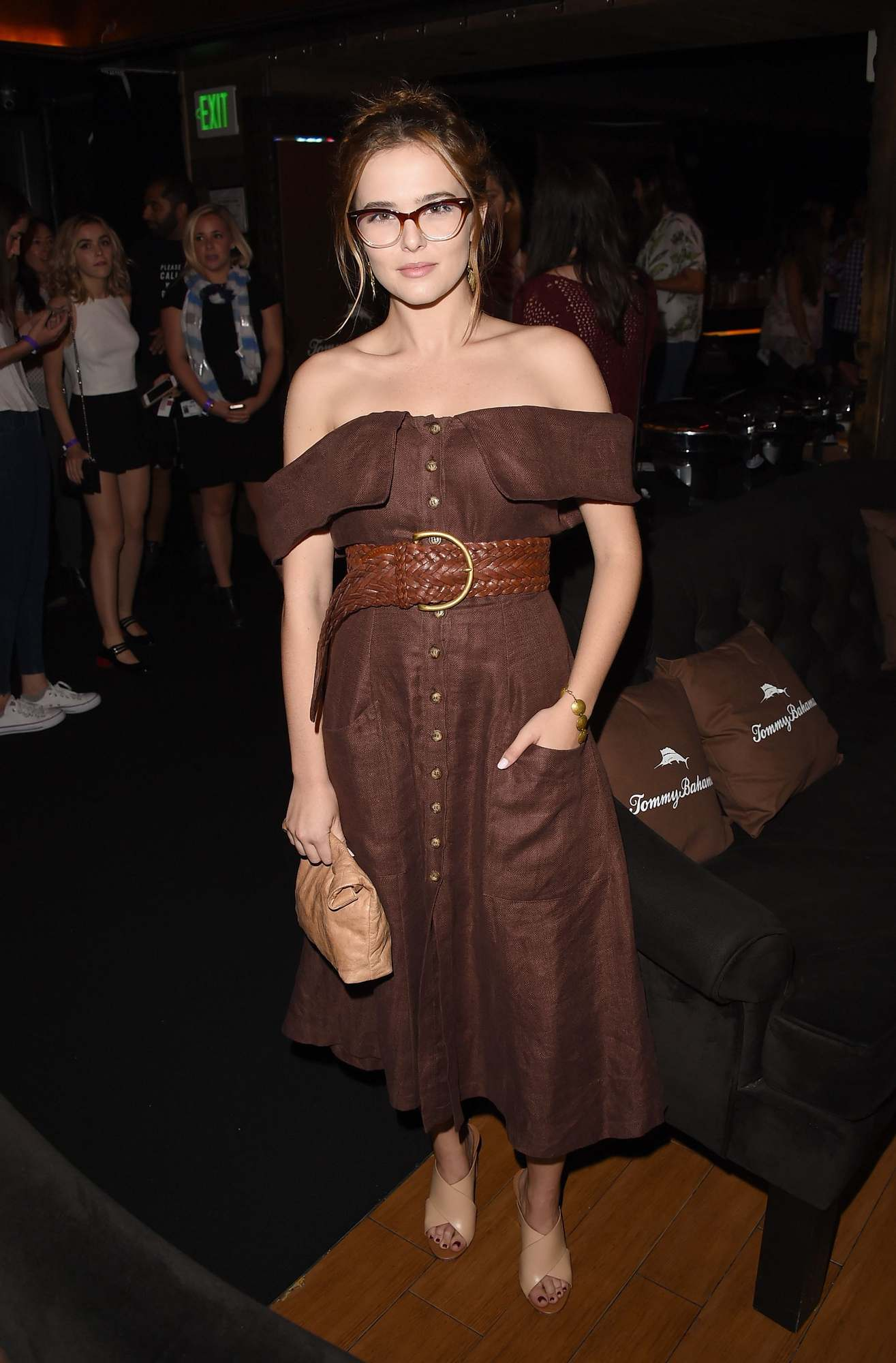 Zoey Deutch Parties at Taylor Swift Concert-3
